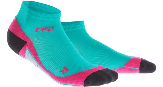 cep Low Cut - Chaussettes course à pied Femme - rose/turquoise